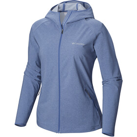 Columbia Heather Canyon Chaqueta Softshell Mujer, blue dusk heather